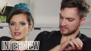 Bella Thorne & Richard Harmon CRUSH Halloween Movie Trivia