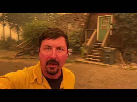 Like Being In HELL, Oregon Wildland Fire Live