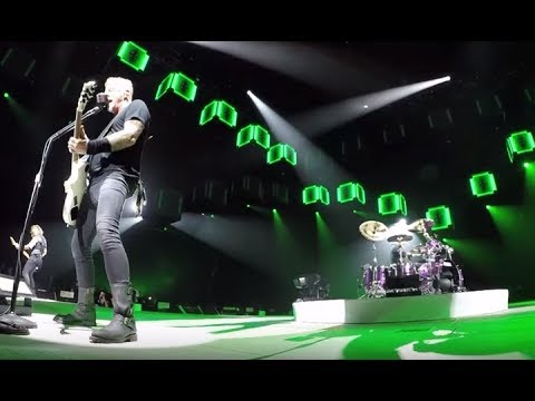 """Metallica post live video of """"Of Wolf And Man"""" and """"Seek and Destroy"""" from Europe!"""