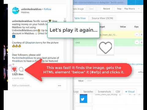 Kantu Docs: How to use Visual UI Testing and elementFromPoint (#efp) to  click on an image