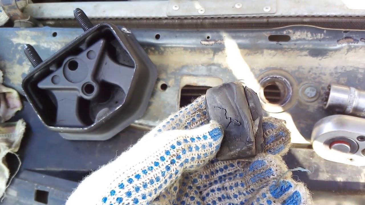 Опорные подушки двигателя дэо нексия 2005года