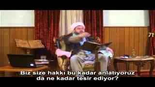 Şeyh Nazım Kıbrisi Hazretlerinin vekili Şeyh Ahmet Yasin'in 30 Ekim 2010 Cumartesi sohbetinden