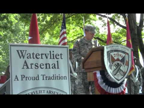 58th Change of Command Ceremony at the Watervliet Arsenal