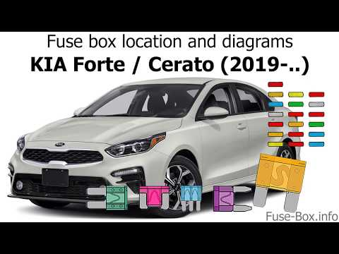 fuse box location and diagrams kia forte cerato (2019 ) youtube 2000 Kia Sephia Fuse Box Diagram