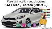 Fuse Box Location And Diagrams Kia Forte Cerato 2014 2018 Youtube