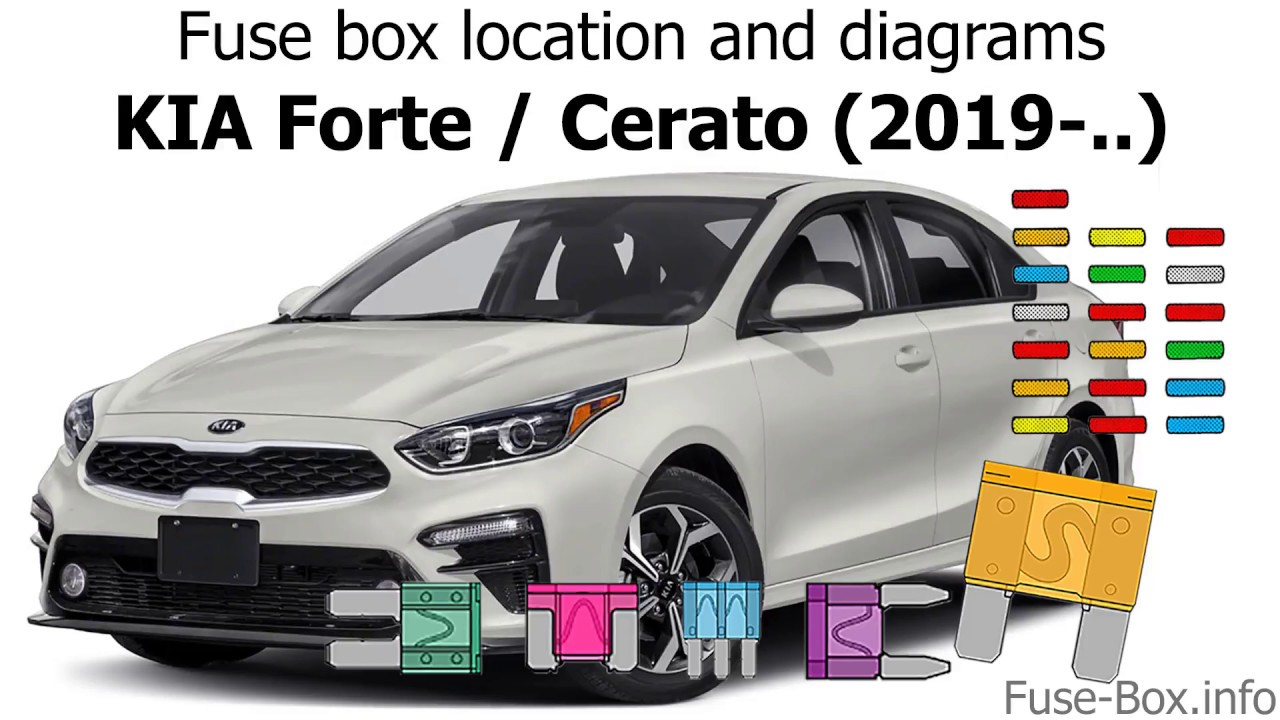 Fuse Box Location And Diagrams  Kia Forte    Cerato  2019