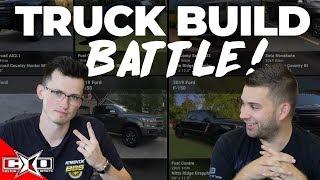 Five Minute Truck Build Battle