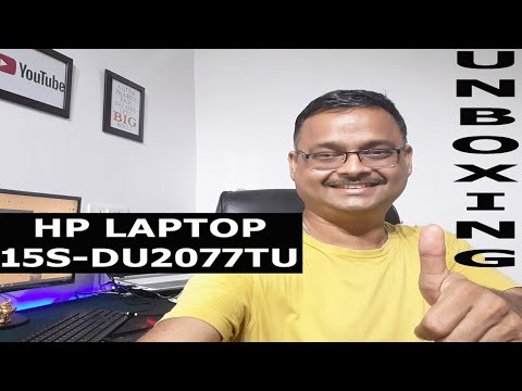 Hp 15s-du2077tu Latest 10th Generation Laptop Review & Unboxing in Hindi