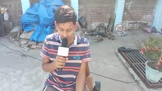 "Dil_diyan_gallan ""by aman in Q7 karaoke mic."