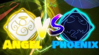 Angel vs Phoenix - France Champs de bataille élémentaires de Roblox