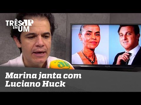 Marina Janta Com Luciano Huck