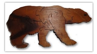 Scroll Saw Projects - Bear Puzzle
