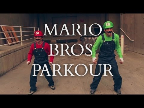 Super Mario Brors Parkour [In Real Life]