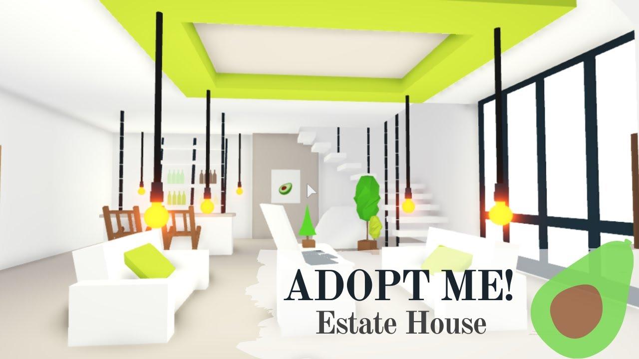 🥑Adopt Me! Estate House! Speed Build(1 Part)🥑 - YouTube