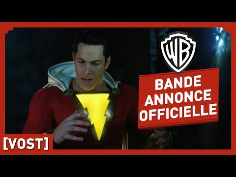 Shazam ! - Bande Annonce Officielle Comic-Con (VOST) - Zachary Levi