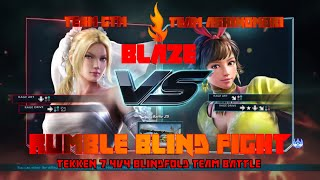 鉄拳7/TEKKEN 7 - BLAZE 2018 Rumble Blind Fight - Team GTM vs Team Ashinomori