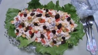 """macaroni Chicken Salad"""