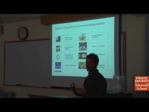 Alex Katz, Manager, Supply Chain Social Responsibility, Patagonia - Public Talk