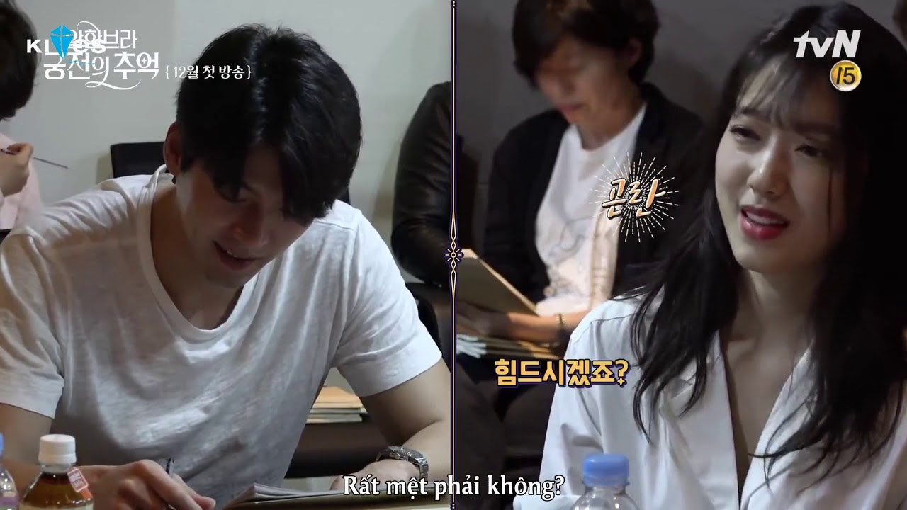 [Vietsub] Memories Of The Alhambra - Hyun Bin \u0026 Park Shin Hye đọc kịch bản