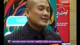 Watsons Music Festival - News Coverage Gala TV on Astro Awani