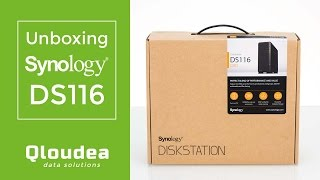 Unboxing Synology DS116