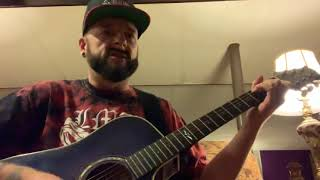 """""""Whiskey Glasses"""" Morgan Wallen - Cru Jay plays acoustic cover! Video"""