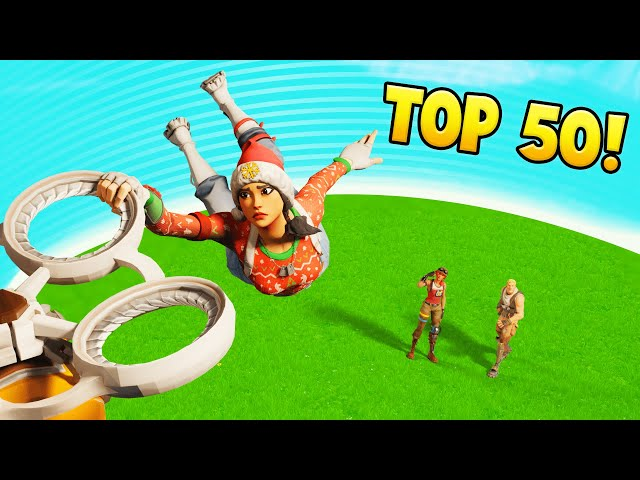 TOP 50 FUNNIEST Fortnite FAILS & Funny Moments #42