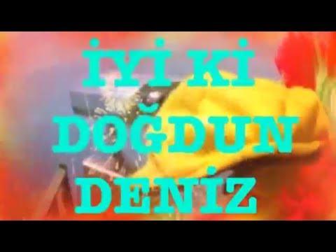 İyi ki Doğdun DENİZ :) 2. VERSİYON Komik Doğum günü Mesajı ,DOĞUMGÜNÜ VİDEOSU Made in Turkey :) 🎂
