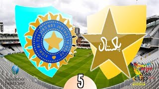 Asia Cup 2014 (Match 5) India v Pakistan -(International Cricket 2010 Game)