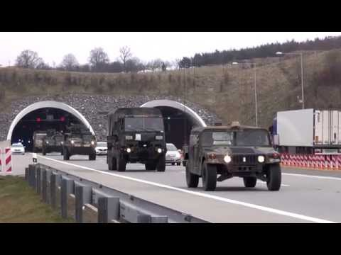 Dragoon Ride - US Army Sending Armored Convoy 1,100 Miles Through Europe
