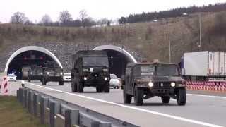 Dragoon Ride - US Army Sending Armored Convoy 1,100 Miles Through Europe
