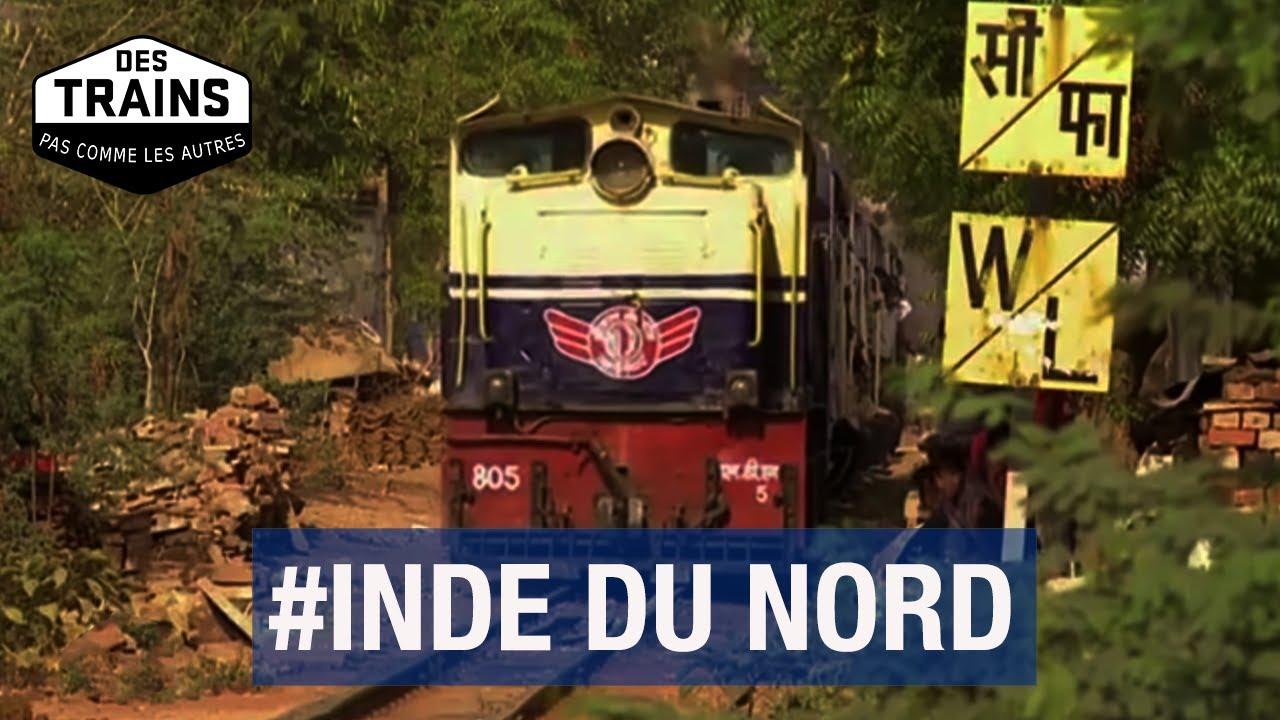 Inde du Nord - Des trains pas comme les autres - Delhi - Gwalior - Documentaire Voyage