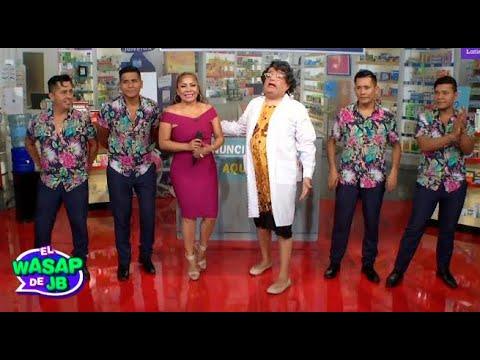 Gloria recibió a Marisol en su nueva farmacia - El Wasap de JB