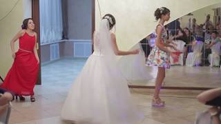 Флешмоб с невестой на свадьбе!