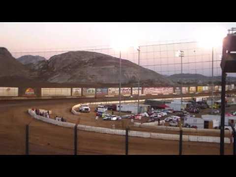 IMCA Modified Heat 1 - Perris Auto Speedway 9/10/16
