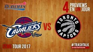 Playoffs 2017 – Deuxième tour : Cavs – Raptors, la preview
