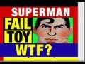 Fail Toy SuperMan Pillow Snuggler Funny Toy Review Video by Mike Mozart of JeepersMedia on YouTube