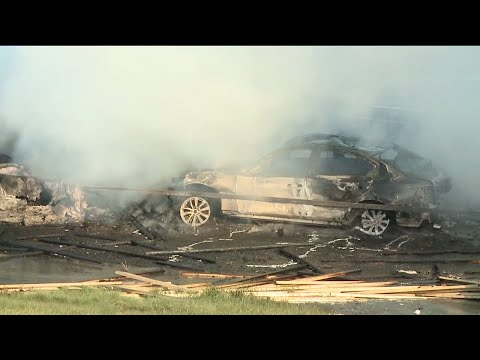 Multiple fatalities in major crash, fire on I-70 in Lakewood