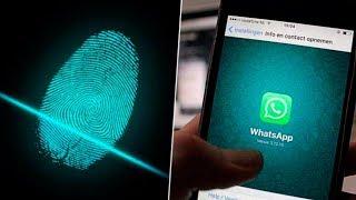 Activar bloqueo con huella en whatsapp ¡nuevo!   truco para whatsapp