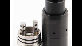 VELOCITY RDA clone quad coil build 24g 8 wraps 2mm WOW
