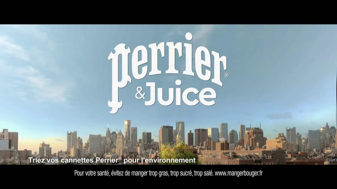"""Musique de la pub Perrier & Juice """"faible en calories simplement extraordinaire""""  2021"""