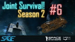 Space Engineers, Joint Survival, S2 #6 (From bad.. to worse!)