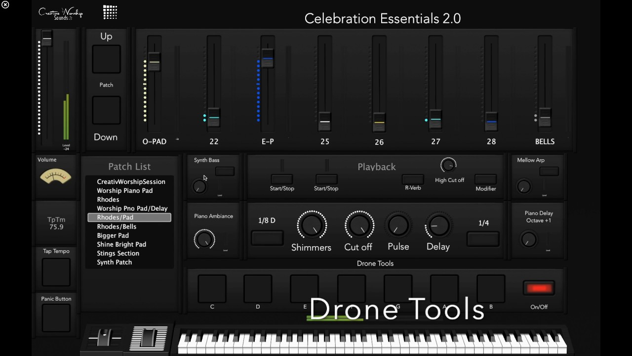 Celebration Essentials 2 0 — Creative Worship Sounds