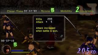 Samurai Warriors: State of War - Musou Gameplay for PSP