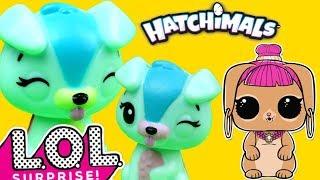 LOL Surprise • Poszukiwania jajek Hatchimals • bajka po polsku