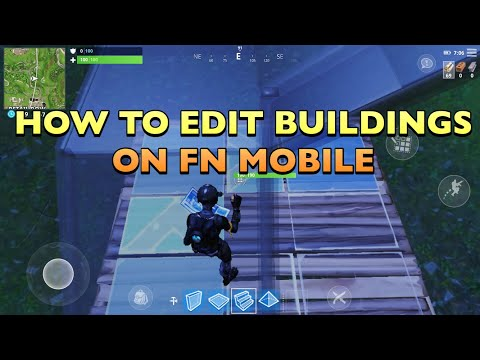 HOW TO EDIT BUILDINGS ON FORTNITE MOBILE