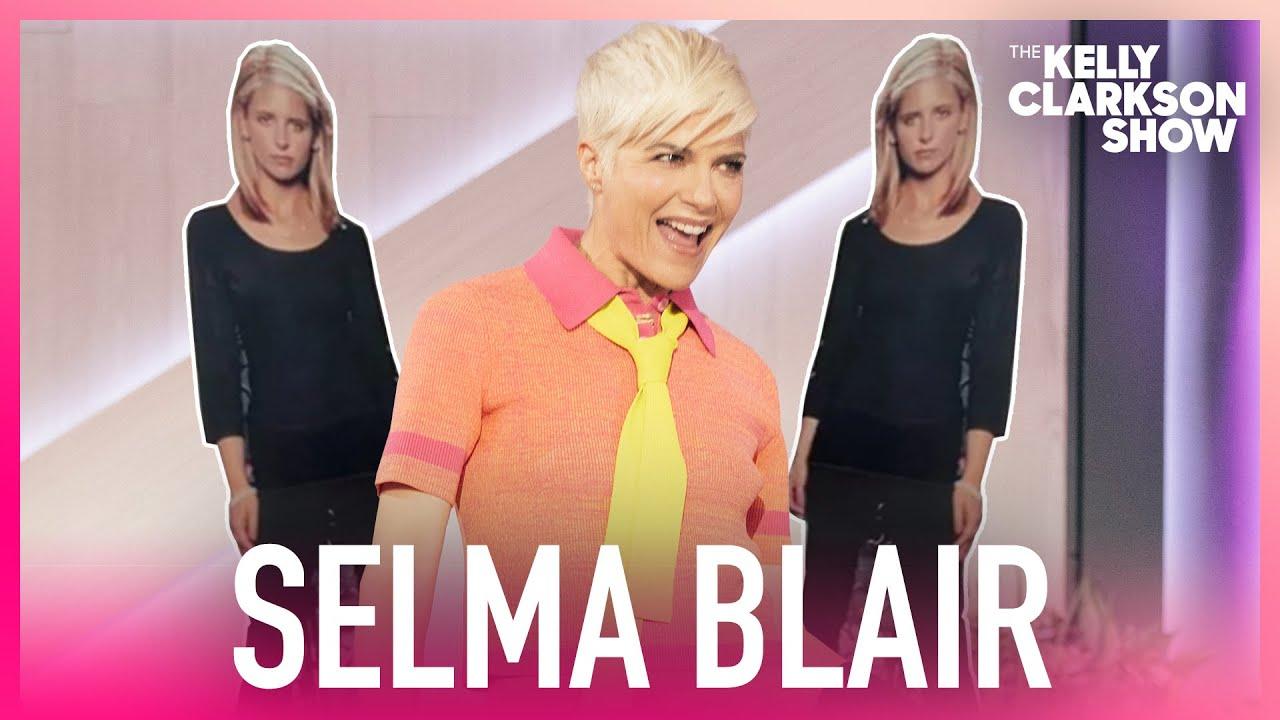 Selma Blair Has Life-Size Sarah Michelle Gellar Cutout