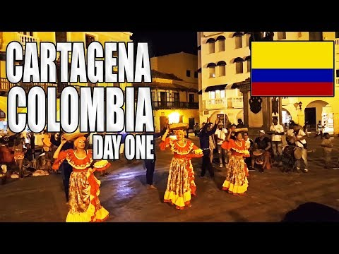 Colombia Trip Day One In Cartagena