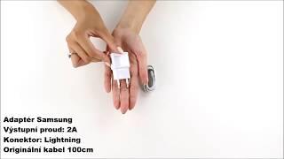 Ukázkové video - Nabíječka pro iPhone + adaptér Samsung