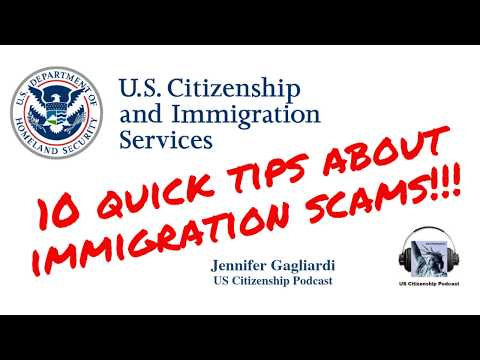 10 Quick Tips About Immigration Scams